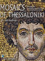 Мозаики в Фессалониках. На английском языке
